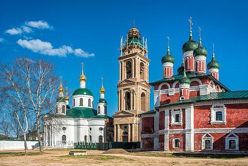 Фотограф Юлия Батурина (Yuliya Baturina) - Храмы Богоявленского монастыря в Угличе #1841343. 35PHOTO