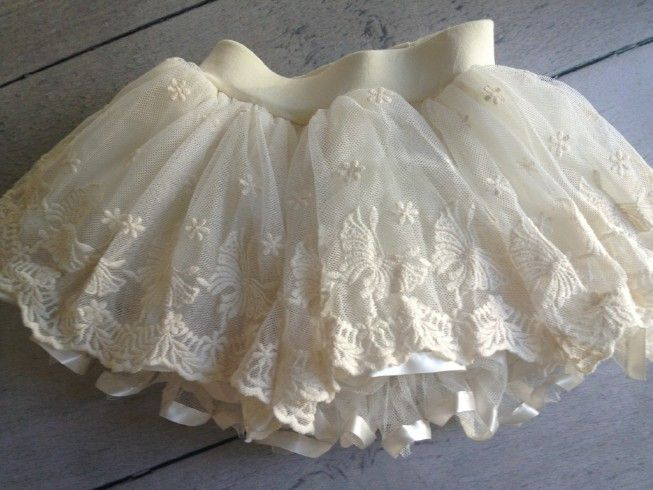 Lace TuTu Skirt..this is beyond adorable!
