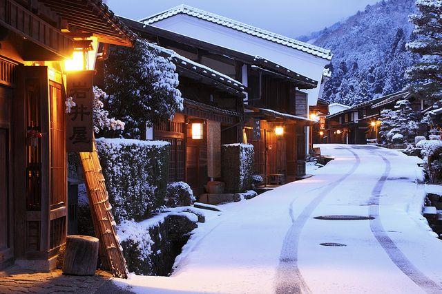 Winter of Japan - Kiso-ji, Tsumago-jyuku, Nagano, Japan