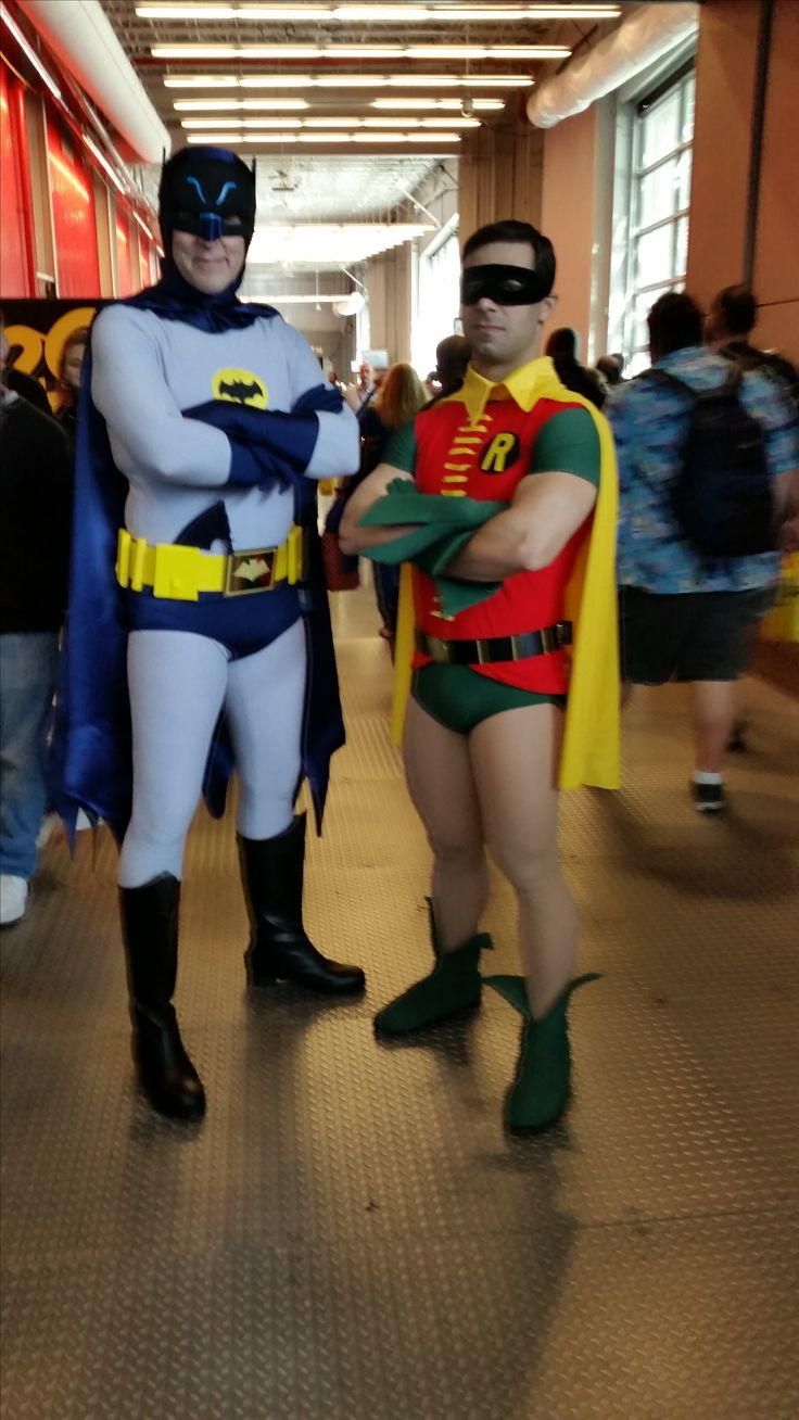 Batman and Robin Cosplay NYCC 2016 | 2016 New York Comic ...