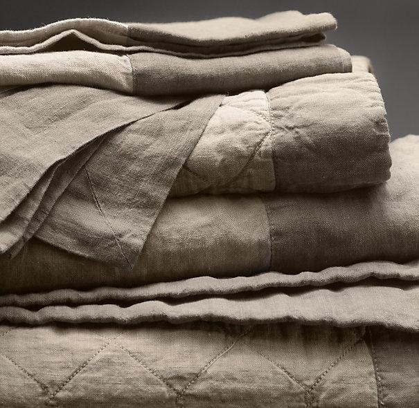 Restoration Hardware Linen Bedding Nest Pinterest