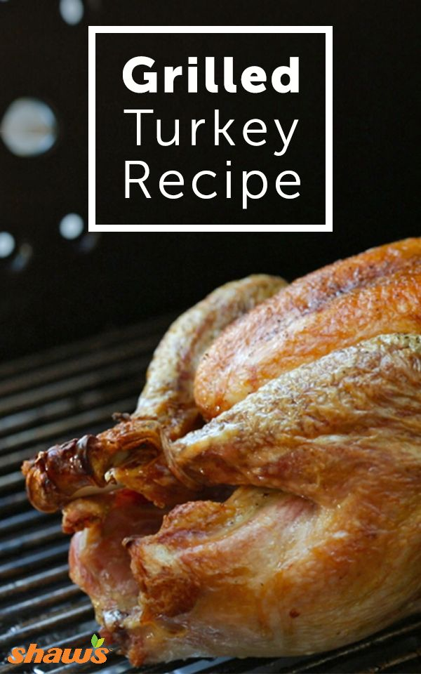 Get your Thanksgiving turkey grilled to perfection with this easy prep grilled turkey recipe. Find out how to get golden-brown skin without the hassle of basting and tender juicy meat.
