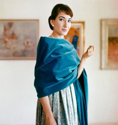"""I would like to be Maria but there is La Callas who demands that I carry myself with her dignity"" - Maria Callas"