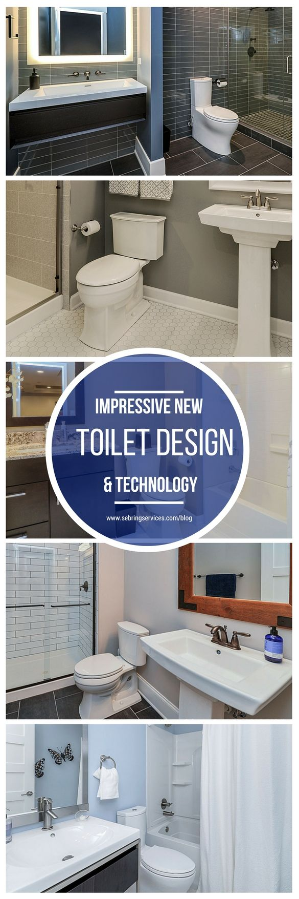 Impressive New Toilet Design U0026 Technology