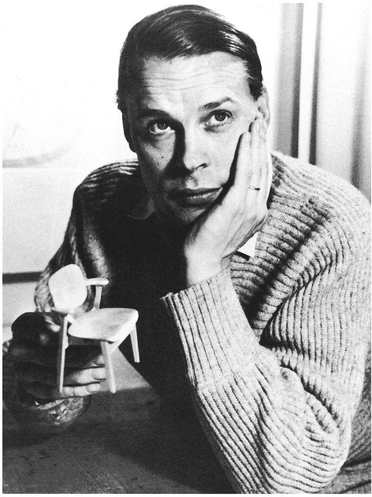 """Imma"" Ilmari Tapiovaara, Finnish furniture designer 1914-1999"