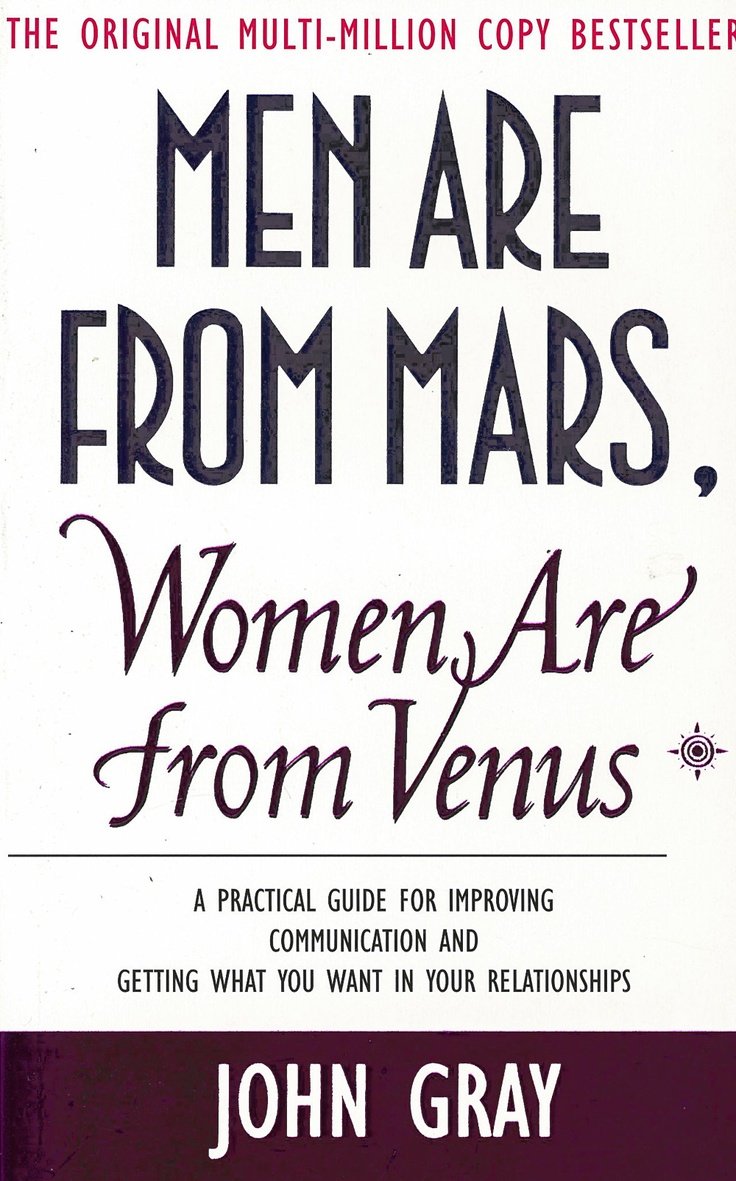 44 best mars venus images on pinterest funny stuff truths men are from mars women are from venus a practical guide for improving communication and getting what you want in your relationships by john gray fandeluxe Images