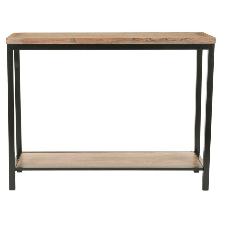 Console Table Oak (Brown) - Safavieh