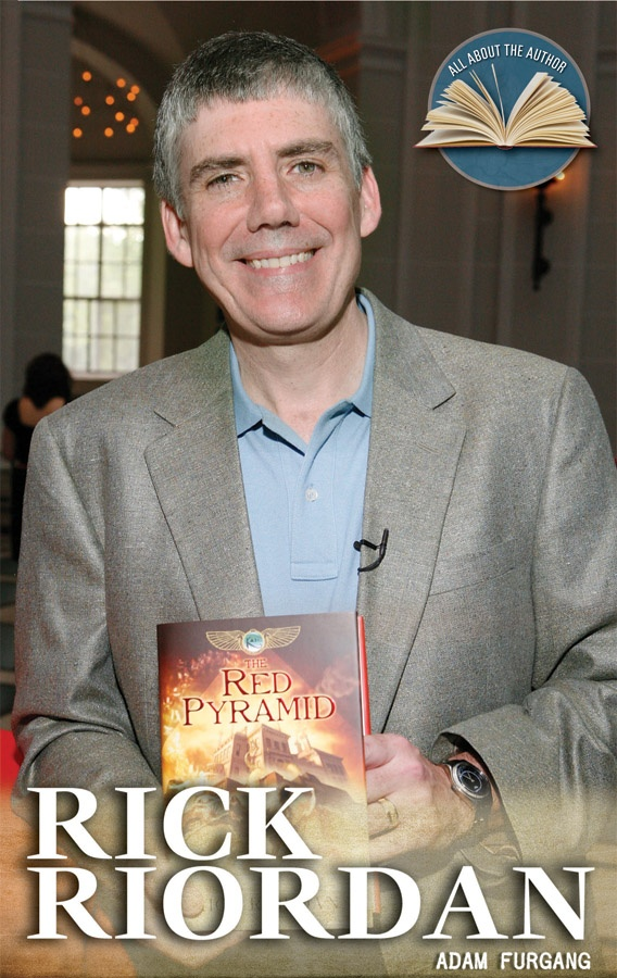 As a kid, Rick Riordan didn't like to read; now he's a master of myths, mystery, and adventure.
