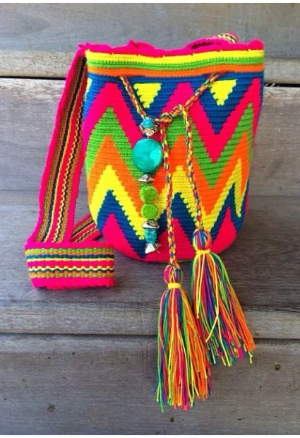 Wayuu bag color