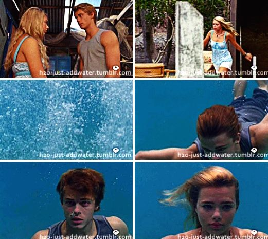 H2o just add water will finds out bella is a mermaid for H2o just add water film
