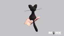 Katze cat -Gratis Häkelmuster - MONK Wolle & Beanies - Anleitung häkeln