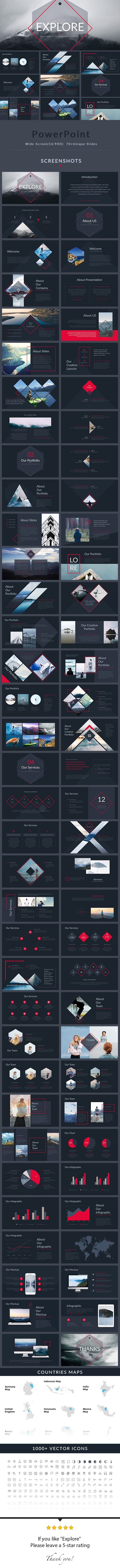 Explore - PowerPoint Presentation Template