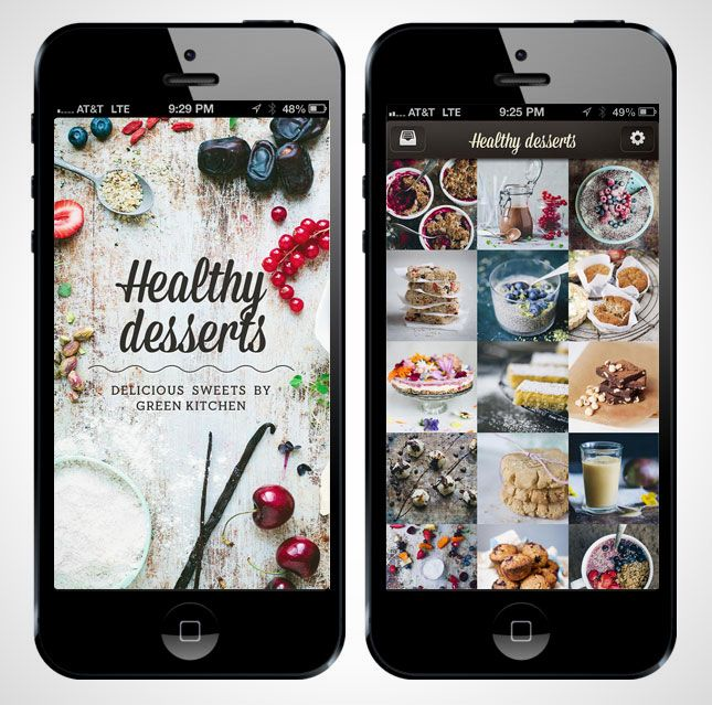 This app gives you healthier alternatives for your sweet tooth.