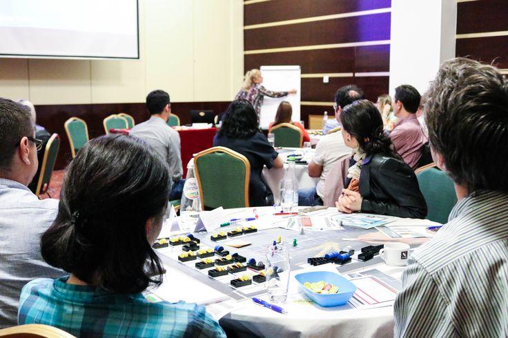 Delia Andries, Senior partner #BusinessSimulation #Conference