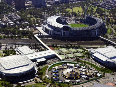 Rod Laver Arena and Melbourne Cricket Ground, Melbourne, Victoria, Australia