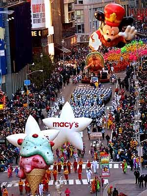 Macy's Thanksgiving Day Parade #TakeMeToTheParadeSweepstakes  YOu should send me cuz I never get to go anywhere!