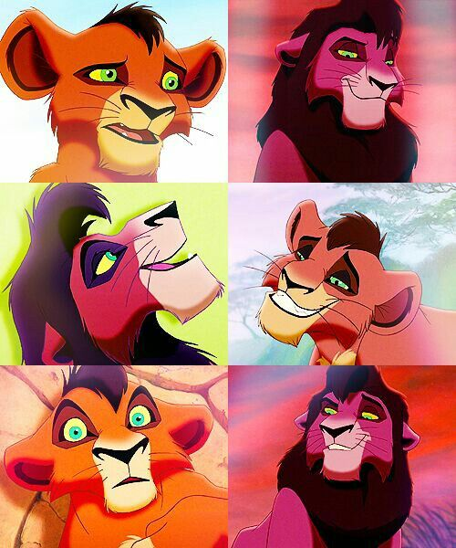 don't lie, girls. You know you had a crush on Kovu, an animated lion, when the movie came out.