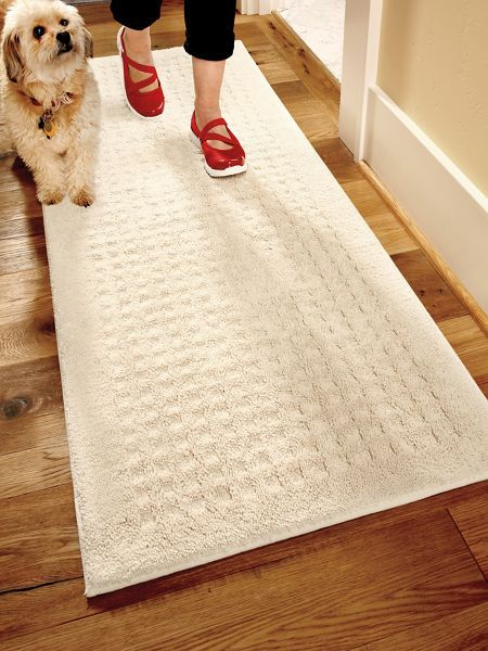 Vista Runner 2x5 Ft Treat Your Feet To The Soft Touch Of Pure Cotton With Practical Nonslip Carpet Runners From Solutions Shop Vista Runners