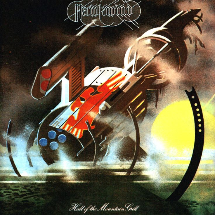 Hawkwind 1974 Hall of the mountain grill