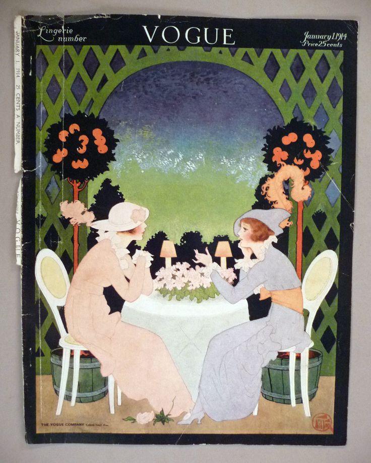 Vogue Magazine January 1 1914  | eBay