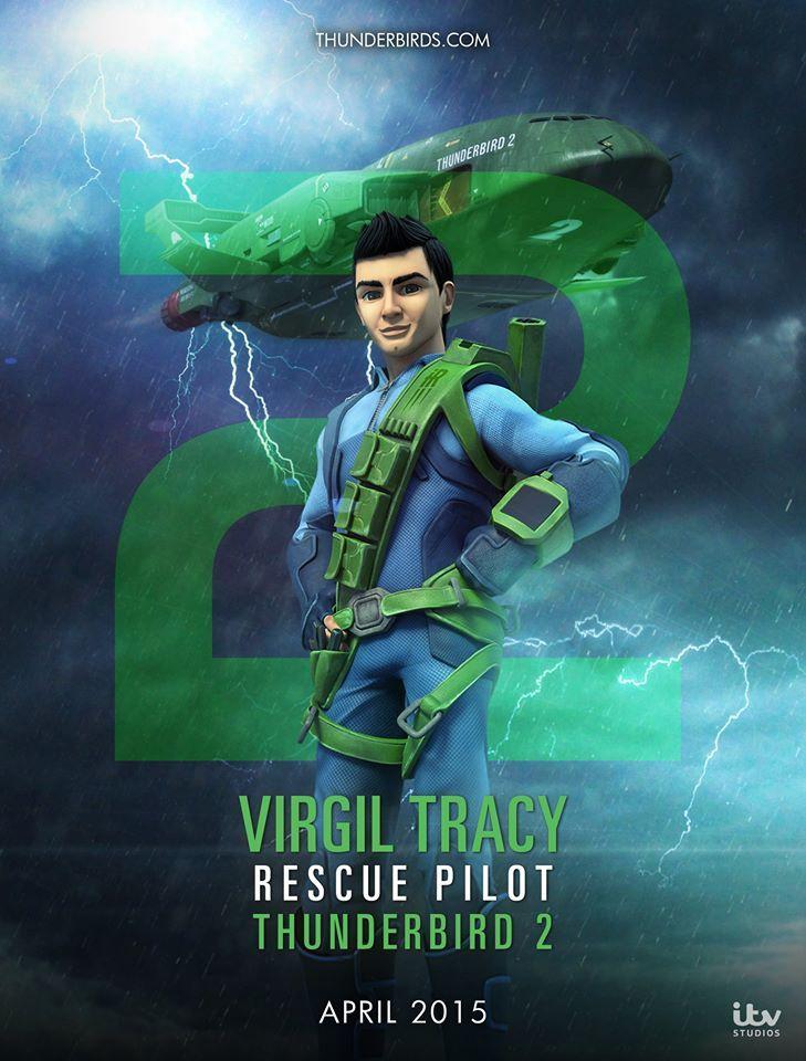 Virgil Tracy, Thunderbirds Are Go! 2015