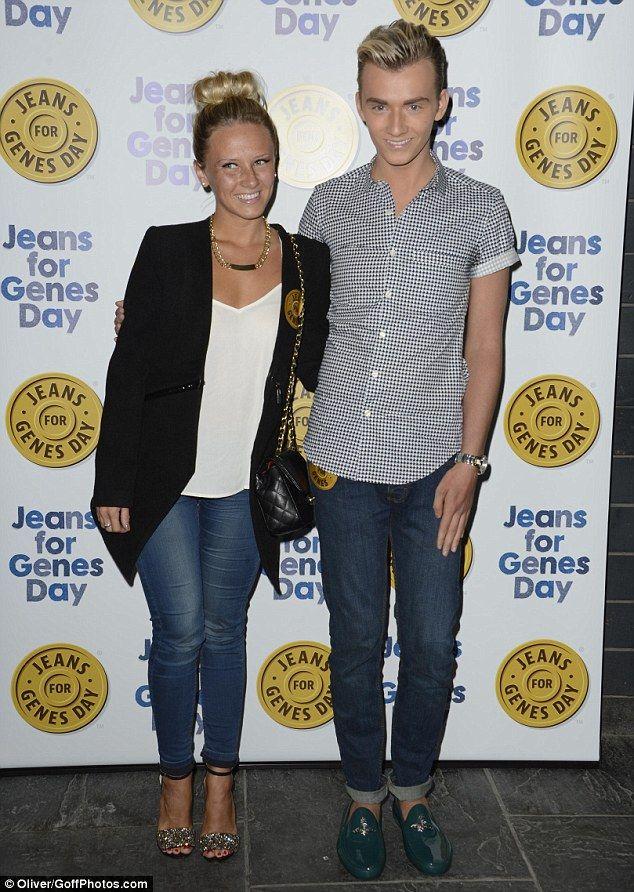 Harry Derbidge - Jeans for Genes Launch Party 2013