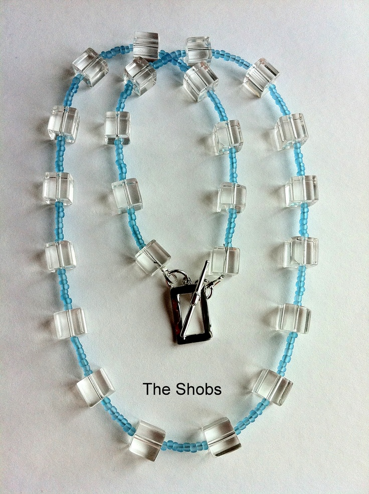 £15 Sky blue necklace!