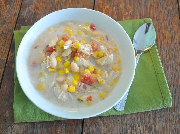 Crock Pot Freezer Meals: White Chicken Chili