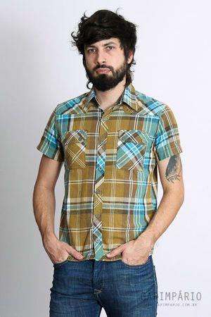 Camisa Xadrez - R$30