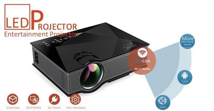 WIFI Mini Portable Projector #portableprojectorscreen #SmartphoneProjector