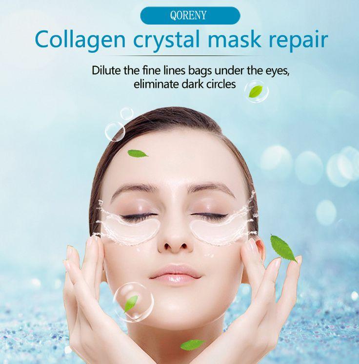 Super Feuchtigkeitsspendende Feuchtigkeitsspendende Augenmaske Hautpflege 5 paar Collagen Anti-Aging Augenmaske Entfernen Augen Falten Hohe qualität