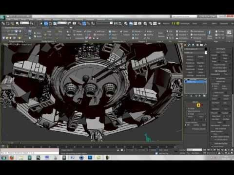 """3Ds Max 2010-2012. """"Hinge from Edge"""" Piping Tutorial. Please Watch in HD - YouTube"""