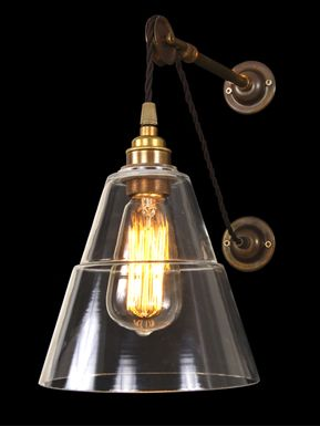 Sinclair Pulley Wall Light