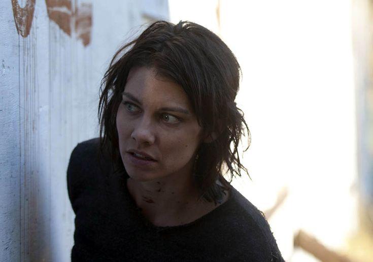 """Maggie Greene (Lauren Cohan) in 413, """"Alone"""""""