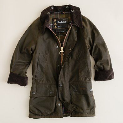 J.Crew: Kids' Barbour® Beaufort jacket