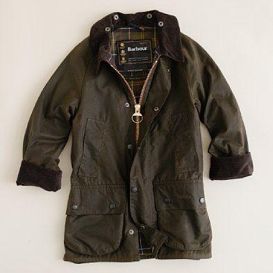 J.Crew: Kids' Barbour® Beaufort jacket