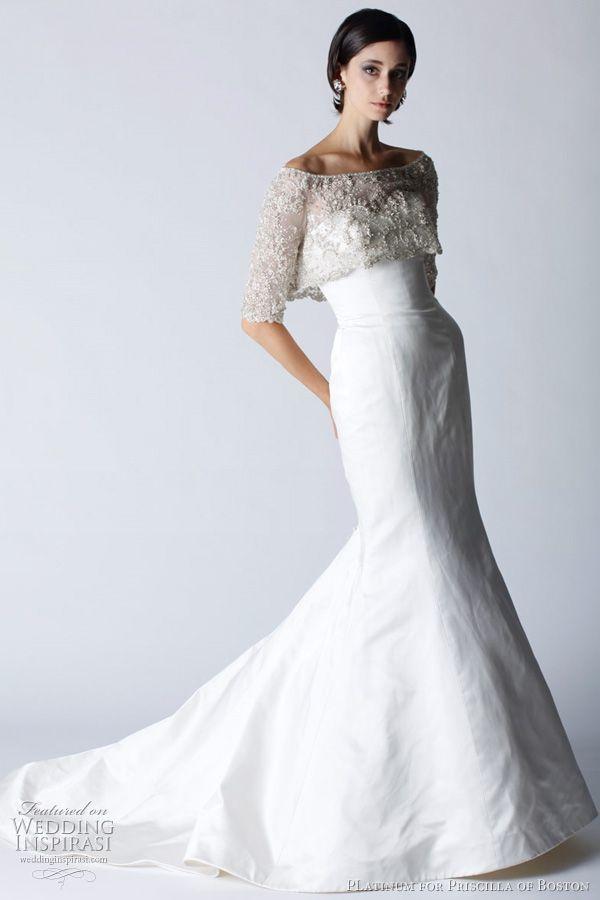 Platinum for Priscilla of Boston Fall 2011 Wedding Dresses | Wedding Inspirasi
