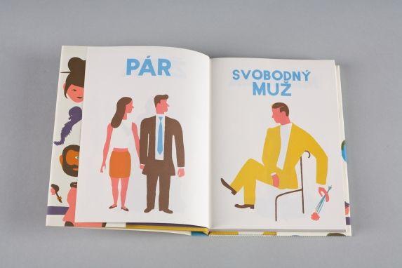 Album lidí | české ilustrované knihy pro děti | Baobab Books