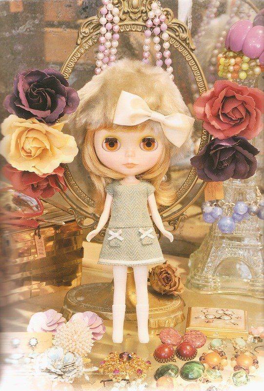 Выкройки из японских журналов. Часть 24 - для куклы Блайз. Часть 4 из 5. / Куклы Блайз, Blythe dolls / Бэйбики. Куклы фото. Одежда для кукол
