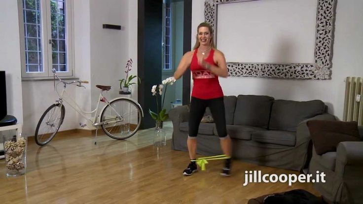 Jill Cooper - Esercizi Gambe e Glutei 9 min.