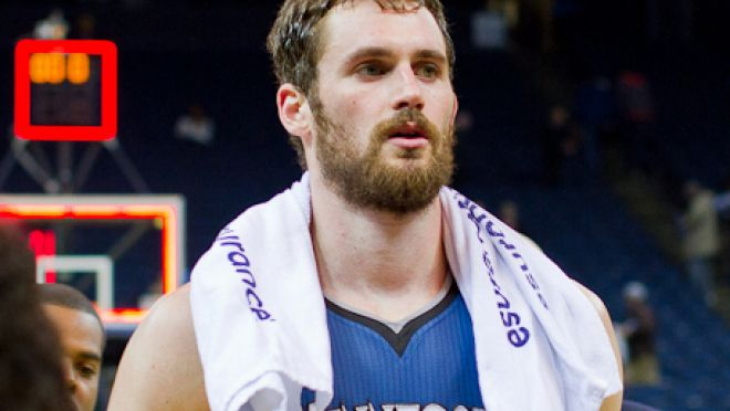 """Kevin Love to the Lakers? All-star responds, say's he on """"the better team"""" - See more at: http://www.eminentculture.com/nba-trade-rumors-kevin-love-keen-leaving-timberwolves-just-yet/"""