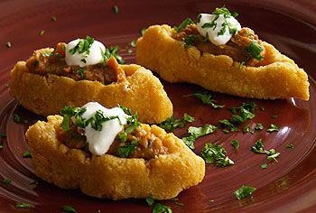 Chalupas: Chalupas are little boats made of cornmeal-dough, deep-fried ...