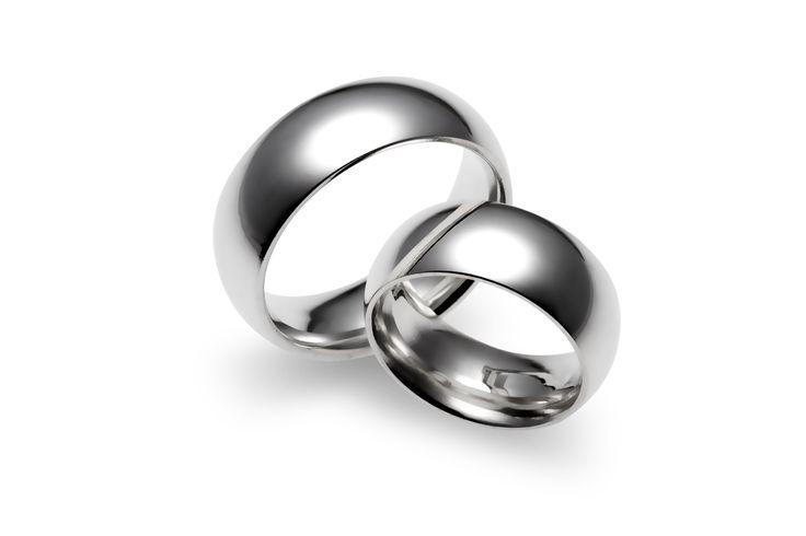 Aliança em Prata Tradicional Larga. #ring #silver #jewelry #anel #namoro