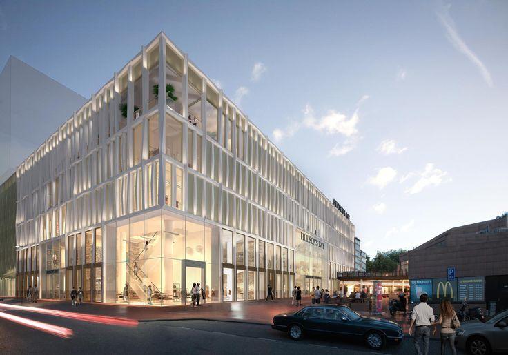De voormalige V&D-locatie in het centrum van Amstelveen wordt herontwikkeld tot nieuw warenhuis voor Hudson's Bay. Het ontwerp is gemaakt door Rijnboutt. Het bestaande gebouw wordt gesloopt tot op het betonskelet en op duurzame wijze voorzien...