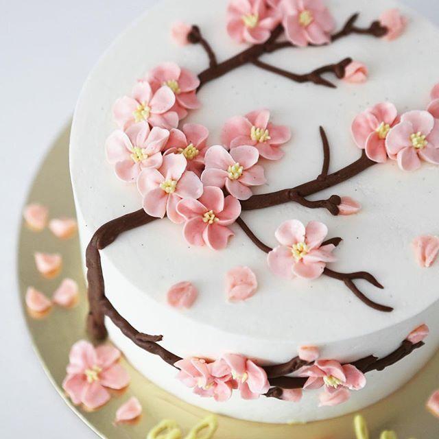 Cake Decorating Ideas Cupcake Decorating Ideas Cake Decor Homemadecake Decorating Ideas Cake Design Dekori In 2020 Spring Cake Cake Decorating Designs Floral Cake