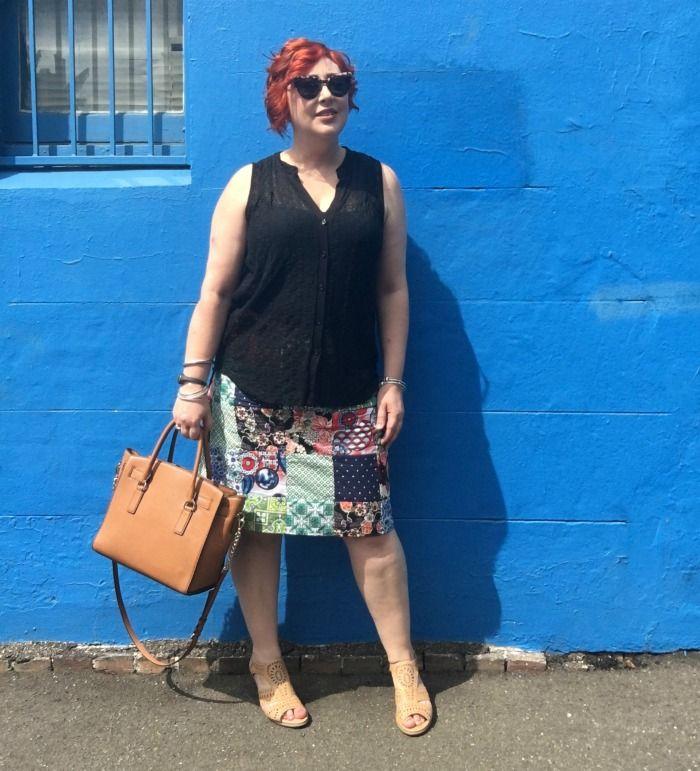 Kimba Likes | Rasaleela Patch Cotton Skirt
