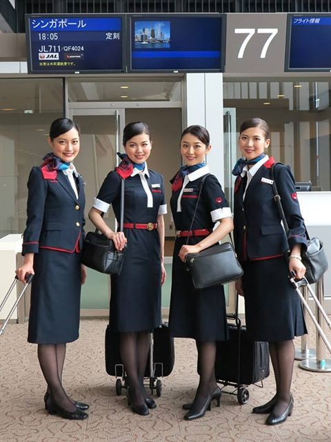 JAL, Japan Airlines cabin crew