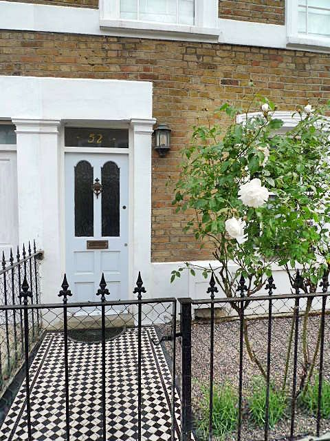 victorian tile path mosaic london front gardenjpg