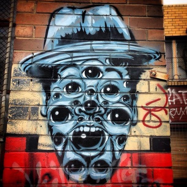 street art graffiti brunswick melbourne