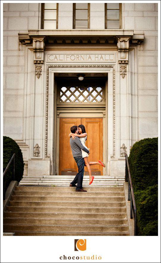 UC Berkeley engagement shoot. Choco Studio.